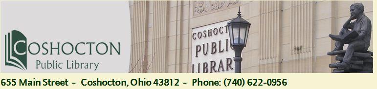 Coshocton Public Library Logo