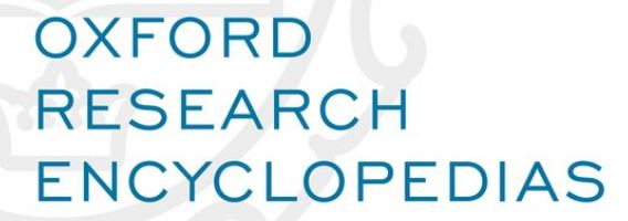 Oxford Research Encyclopedias (Oxford University Press)